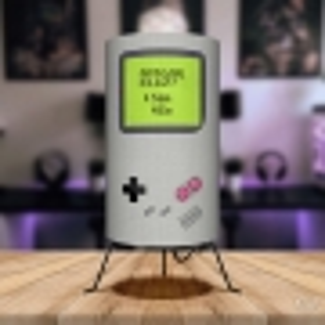 Luminária Game Boy Apagar a Luz
