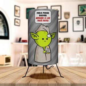 Luminária Mestre Yoda - Star Wars