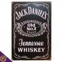 Placa de Metal Jack Daniel's - Whiskey