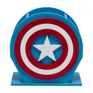 Porta-Canetas Capitão América - Marvel