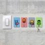 Porta-Chaves Pixel Iron Man