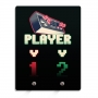 Porta-Chaves Player 1 e Player 2