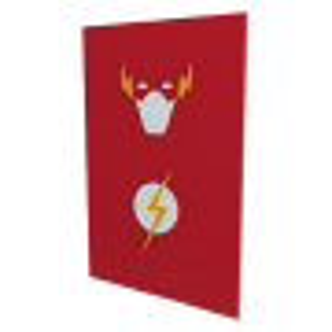 Quadro em Relevo Flash - DC Comics