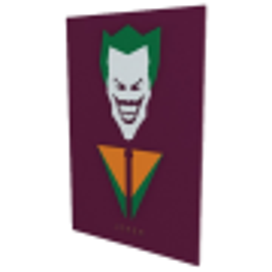Quadro em Relevo Joker - DC Comics