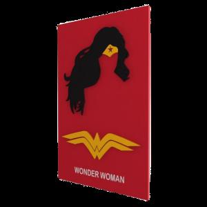 Quadro em Relevo Wonder Woman - DC Comics