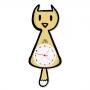 Relógio com Pêndulo Gato