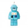 Cofre de Cerâmica Robô Azul