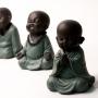 Enfeite Buda Rezando