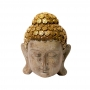 Enfeite Rosto Buda Hindu Zen