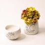 Vaso de Cerâmica Pequeno Lua