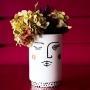 Vaso de Cerâmica Piscando Comprido