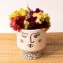 Vaso de Cerâmica Piscando Redondo