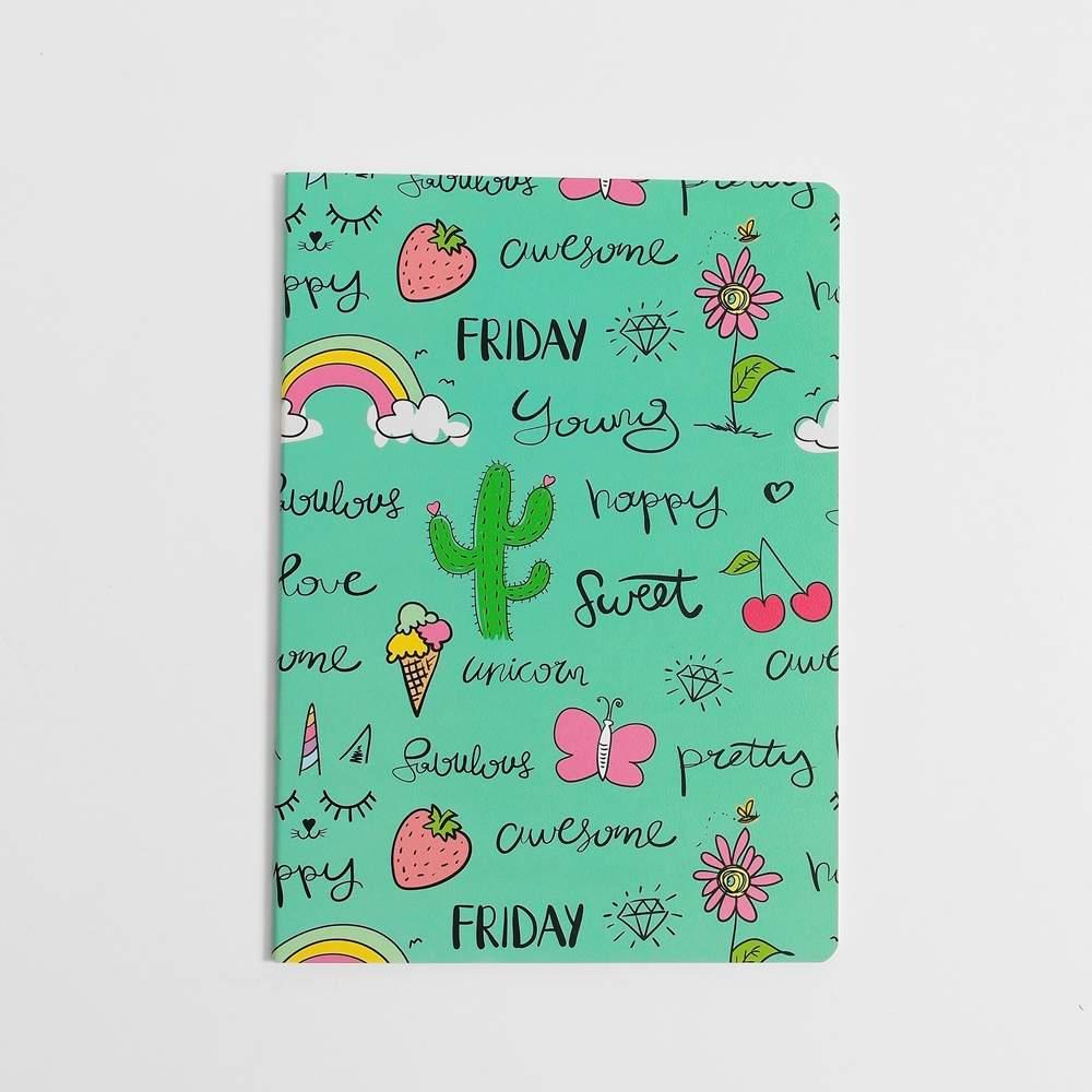 Caderno Cacto E Doces
