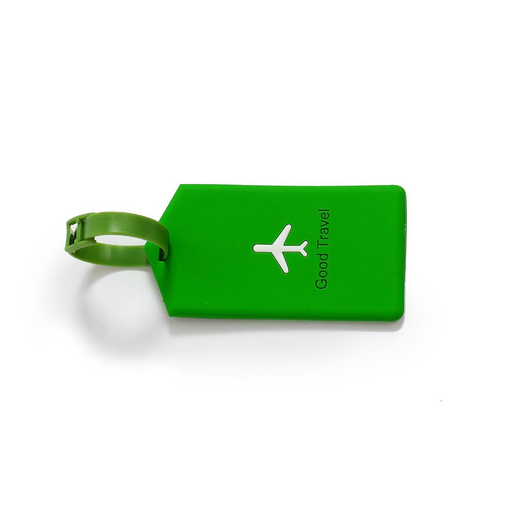 Identificador De Bagagem Avião - Verde