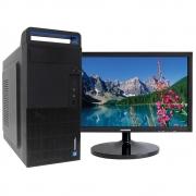 Computador Concórdia Com Monitor 18,5'' Processador Core I3 10100 4gb Ddr4 Ssd 120gb