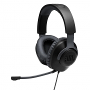 Fone De Ouvido Headset Gamer Jbl Quantum 100 Preto Drivers 40mm