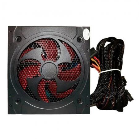 Fonte Bluecase 500w BLU500PFC PFC Ativo C/ cabo Automática