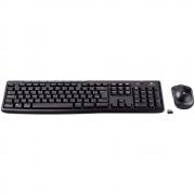 Kit Teclado E Mouse Sem Fio Logitech Mk270