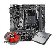 Kit Upgrade Processador Amd Ryzen R3 3200G + Placa mãe Asus  A320M-K/BR + Cooler