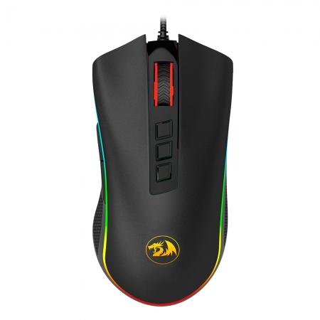 Mouse Gamer Redragon Cobra RGB Preto M711