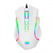 Mouse Gamer Redragon Griffin Branco M607W