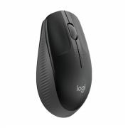 Mouse Logitech Sem Fio M190 Cinza