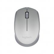 Mouse Wireless Optico Logitech M170 2.4 Ghz Dpi 1000 Prata