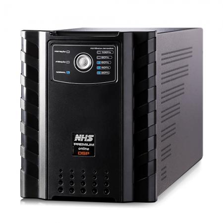 Nobreak 1500va Nhs Premium Online Gii 1155w Entrada Bivolt 4x9ah Saida 220v