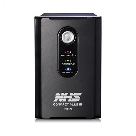 Nobreak Nhs Compact Plus Iii Max 1400va 8t 2 Baterias 7 Ah Monovolt - Outlet