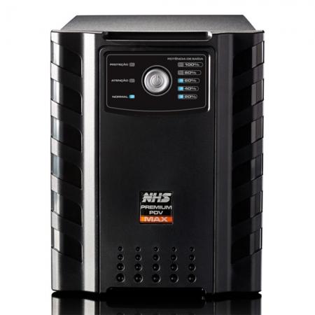 Nobreak Nhs Premium Pdv Max Gii 2200va C 2 Bat  Sel 17 18ah S 220v Cor Preta