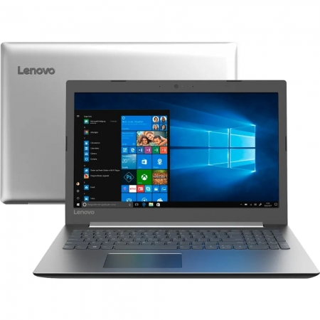 "Notebook Lenovo Ideapad 330 Intel Core I3-7020u Memoria 8gb Ddr4 Ssd 120gb Tela 15,6"" Hd Sistema Windows 10 Pro"
