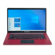 "Notebook Multilaser Pc132 Legacy Atom Z8350 Ram 2gb Hd 32gb 14"" Windows 10 Home Vermelho"