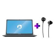 "Notebook Positivo C4128ei Celeron N3350 4gb Ddr4 Ssd 128gb Tela 14"" Hd Led Windows 10 Pro + Ganhe Fone Philips Taue100bk"