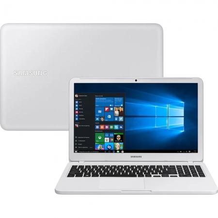 Notebook Samsung Essentials E30 Np350 Core I3 7020U Memoria 8Gb Hd 1Tb Ssd 240Gb Tela 15.6' Fhd Cor Branco Win 10 Home