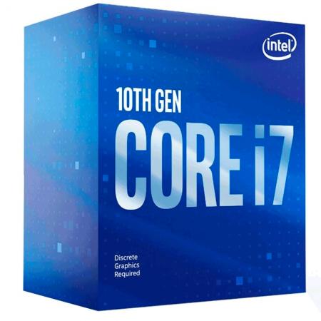 Processador Intel Core I7-10700f, Cache 16mb, 2.9ghz (4.8ghz Max Turbo), Lga 1200