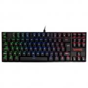 Teclado Gamer Redragon Kumara RGB PTO switch Marron K552RGB-1