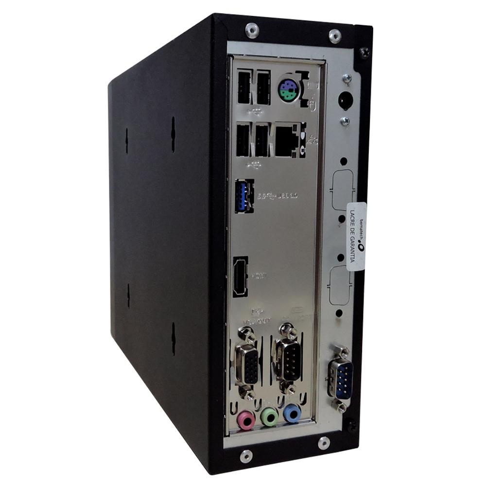Computador Bematech Rc 8400 Zion Celeron J1800 Memória 4gb Ddr3 Ssd 120gb 2 Seriais Sistema Windows 10 Pro