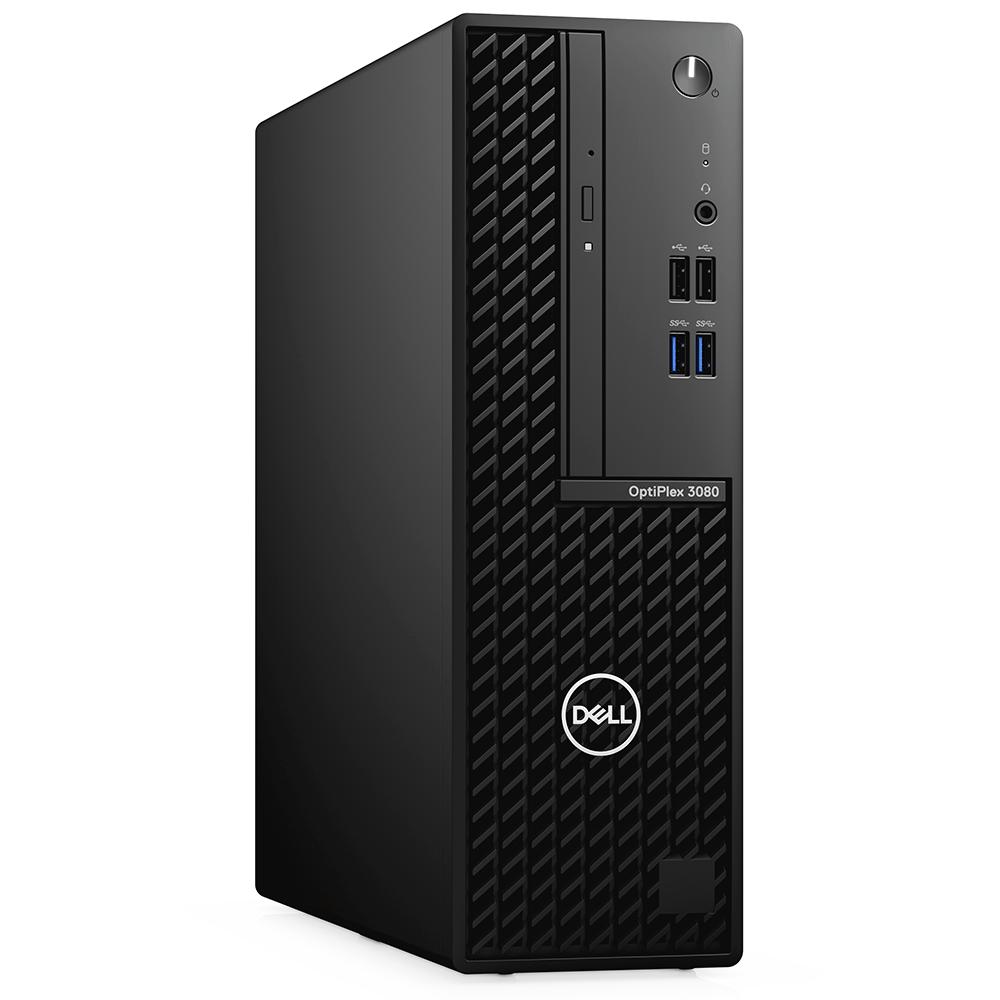 Computador Dell Optiplex SFF 3080 Core I5-10500 Memória 4gb SSD 256gb DVD Sistema Linux