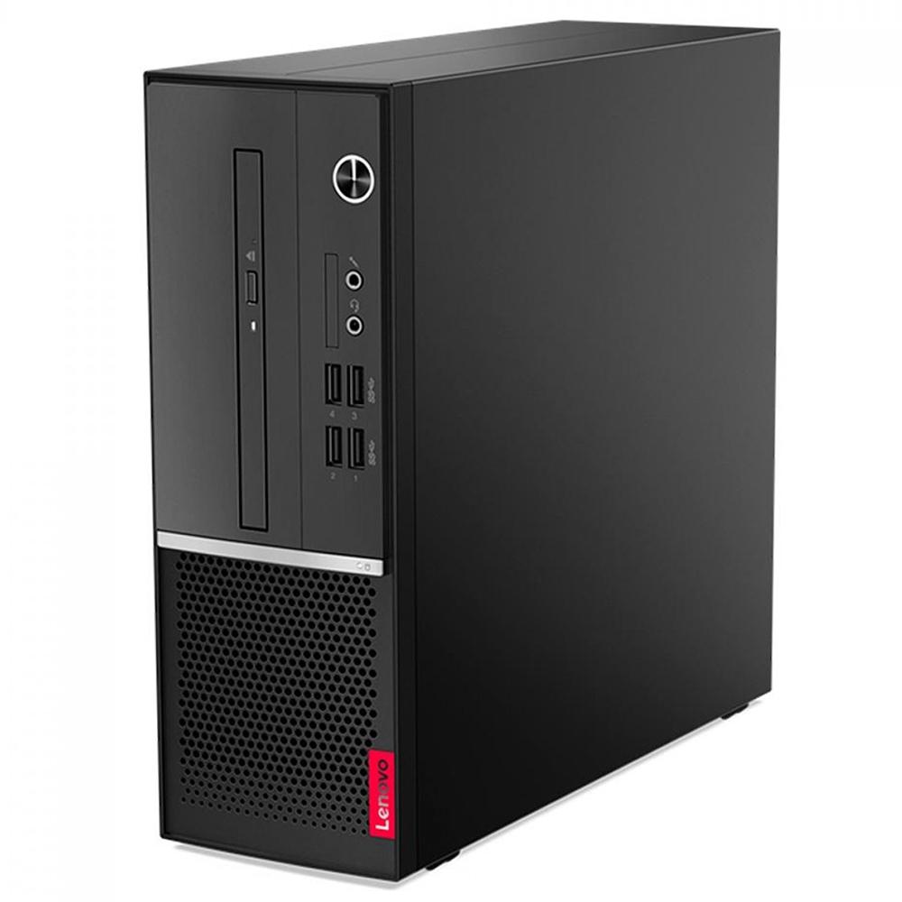 Computador Lenovo Sff V50s Core I3-10100 Memória 4gb Hd 500gb Windows 10 Pro