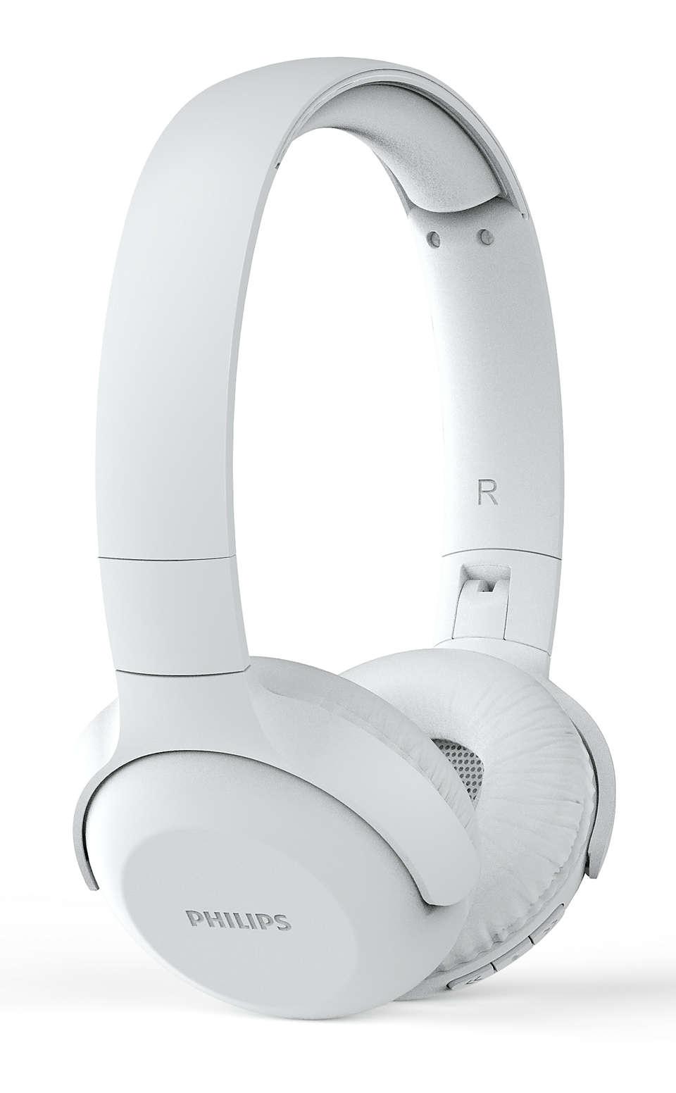 Fone De Ouvido Headphone Philips Wireless Sem Fio Branco - Tauh202wt/00
