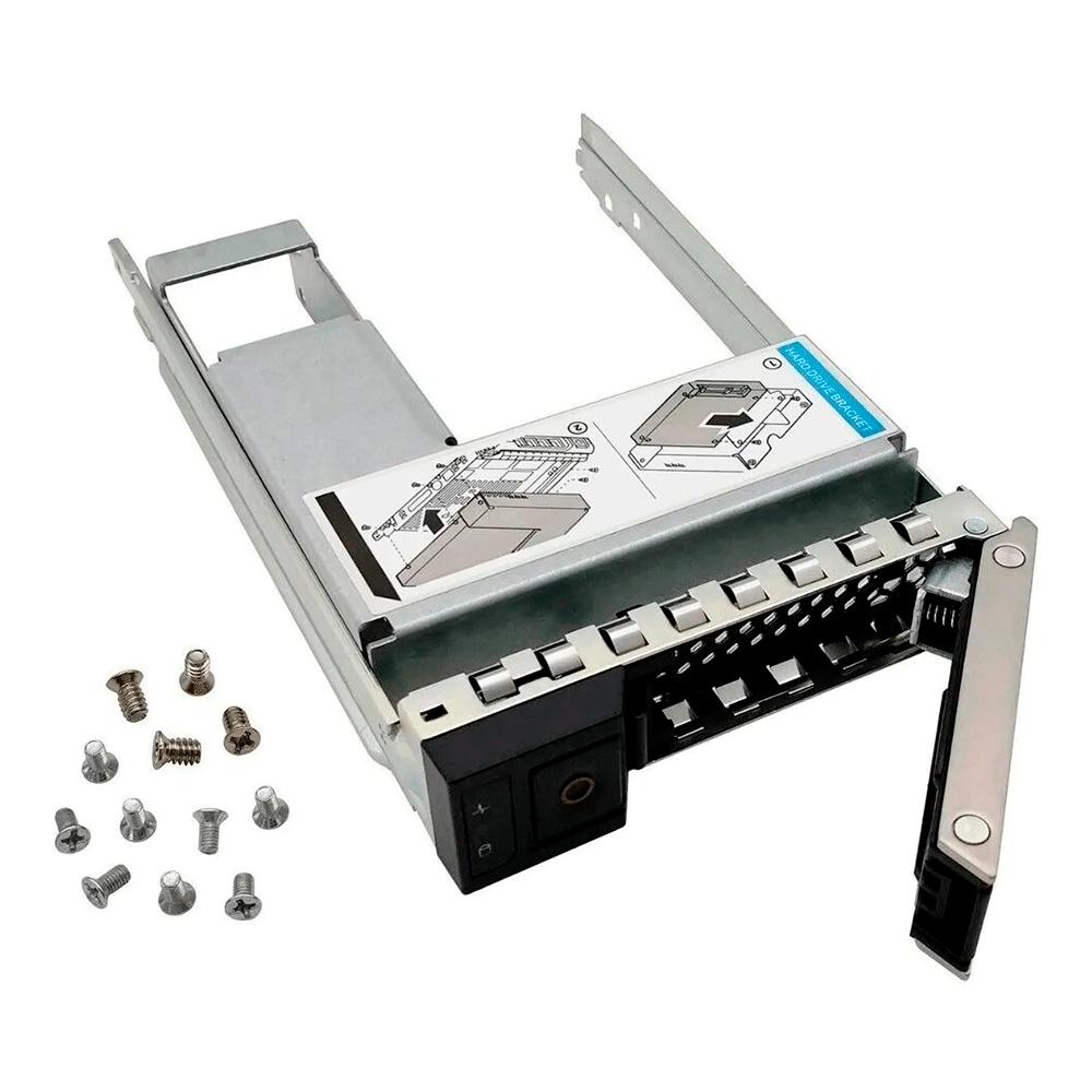 Gaveta Disco Hot-Plug 3.5 com flex bay 2.5 Servidor Dell 14G