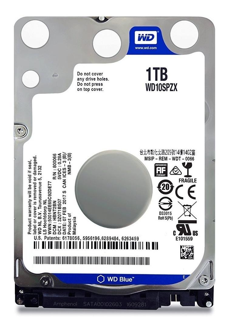 Hd Notebook 1tb Interno Western Digital 5400rpm