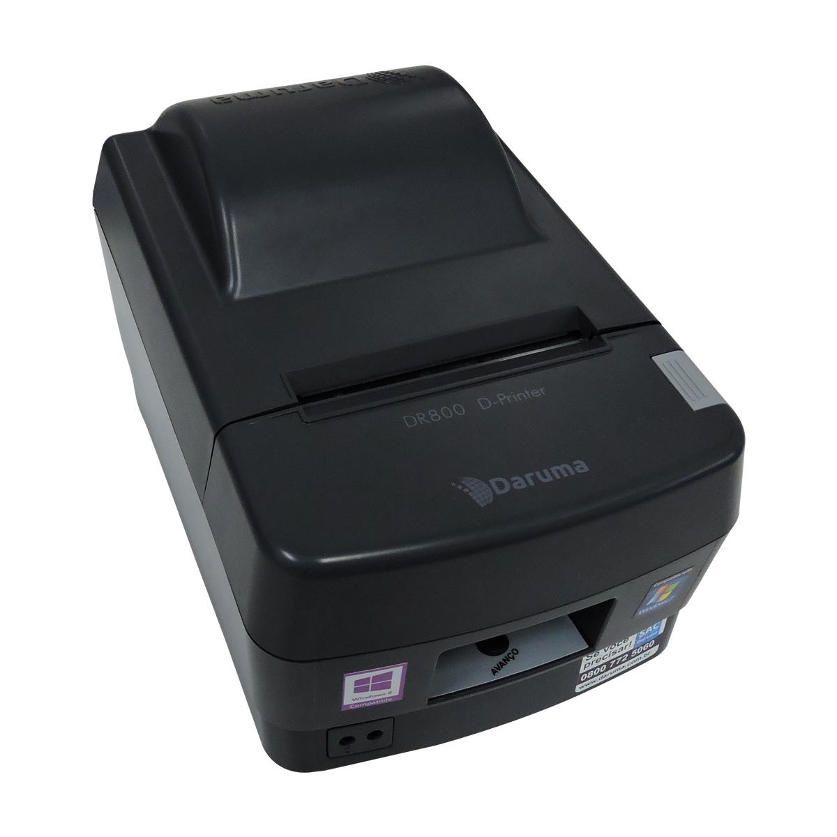 Impressora Daruma Não Fiscal Dr-800 Guilhotina Usb/serial