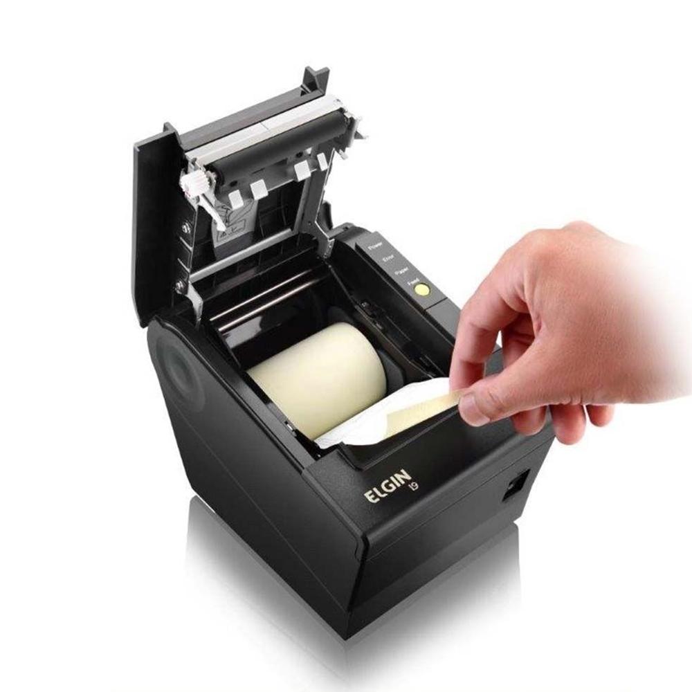 Impressora Elgin Não Fiscal I9 Guilhotina Usb Preta Sat Nfc-e