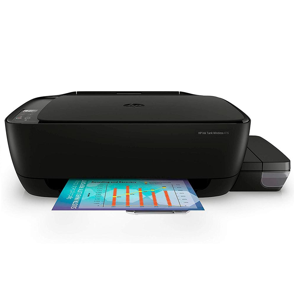 Impressora Multifuncional Hp Tanque De Tinta 416 Wifi Preta
