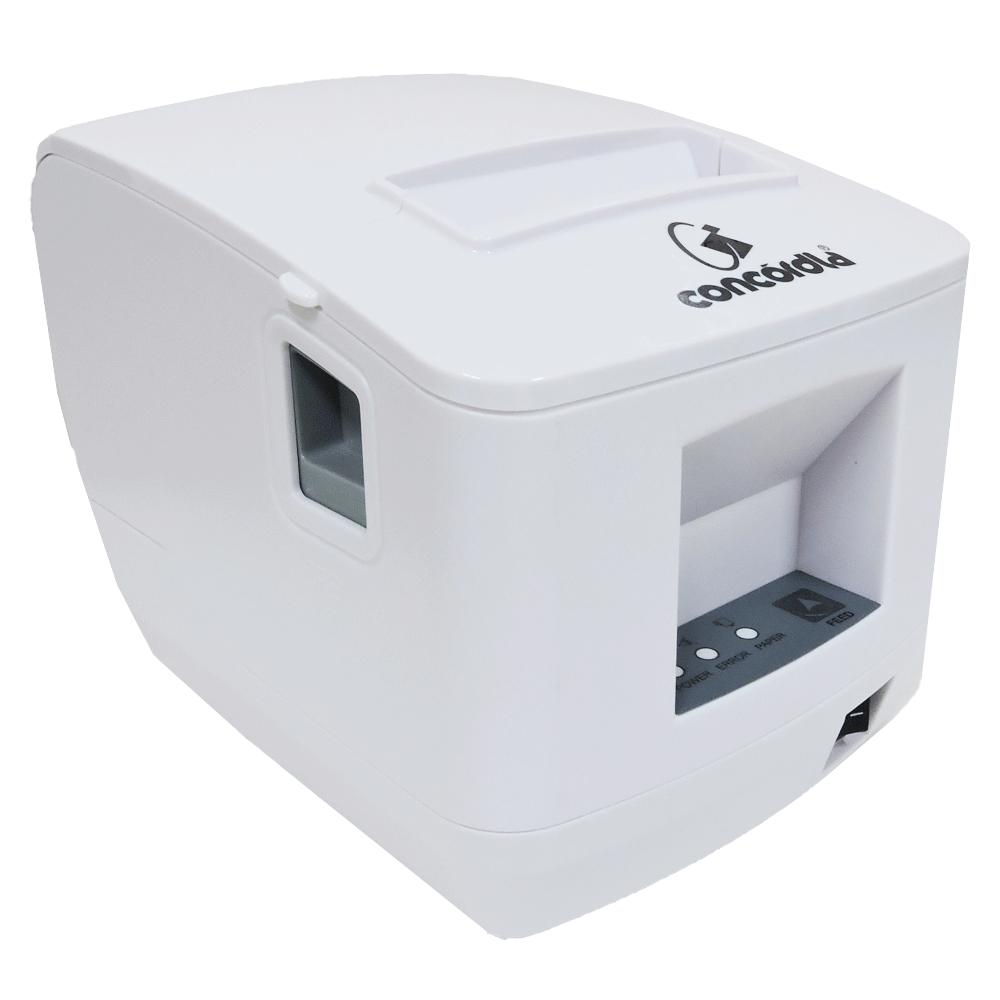 Impressora Não Fiscal Térmica De Cupom Concórdia Xp V320 Usb E Ethernet Branca