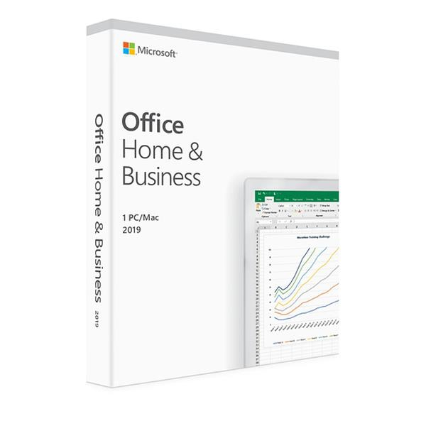 Licença Microsoft Office Home E Business 2019 Fpp 32 64bits