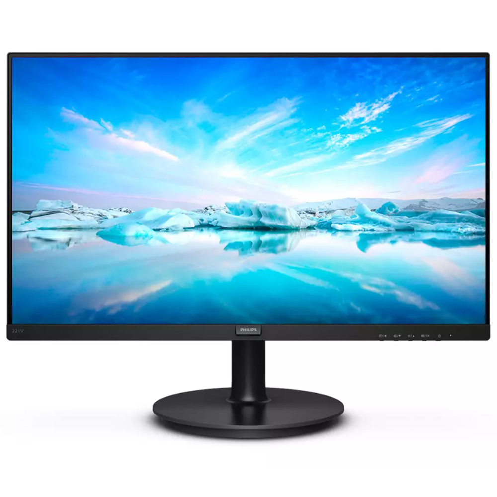 Monitor Philips V221v8 21.5'' Widescreen Full Hd Led Vga Hdmi Borda Ultrafina