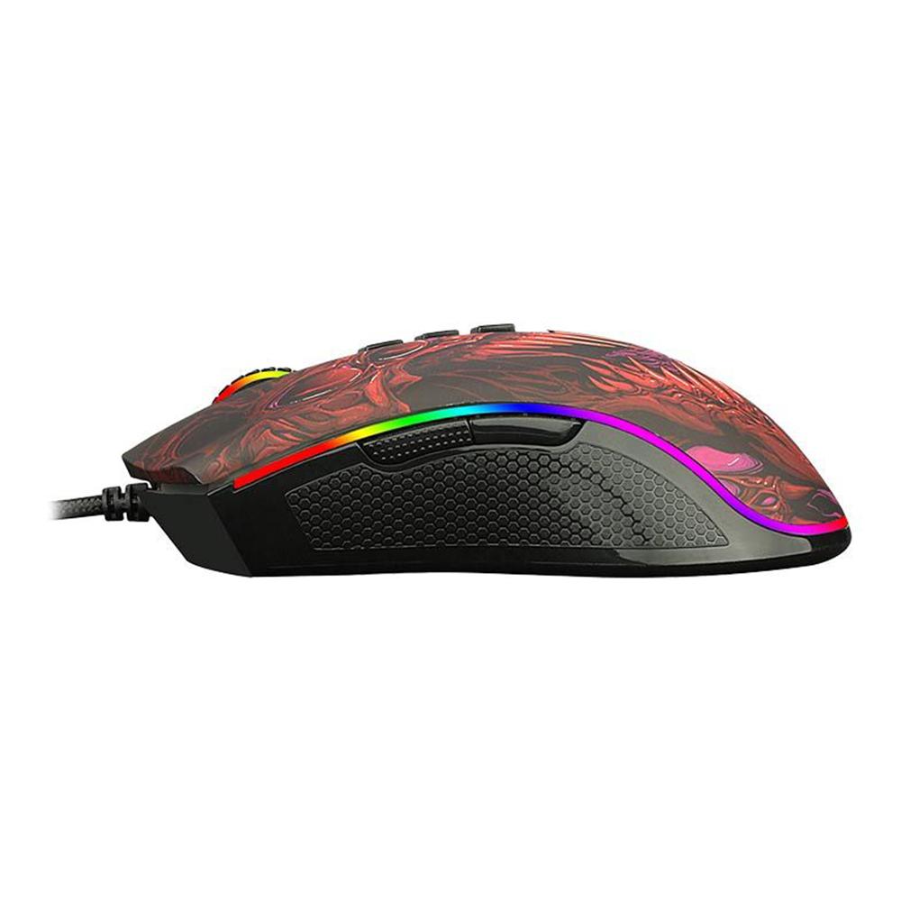 Mouse Gamer Redragon Infernal Ryu Preto ID711