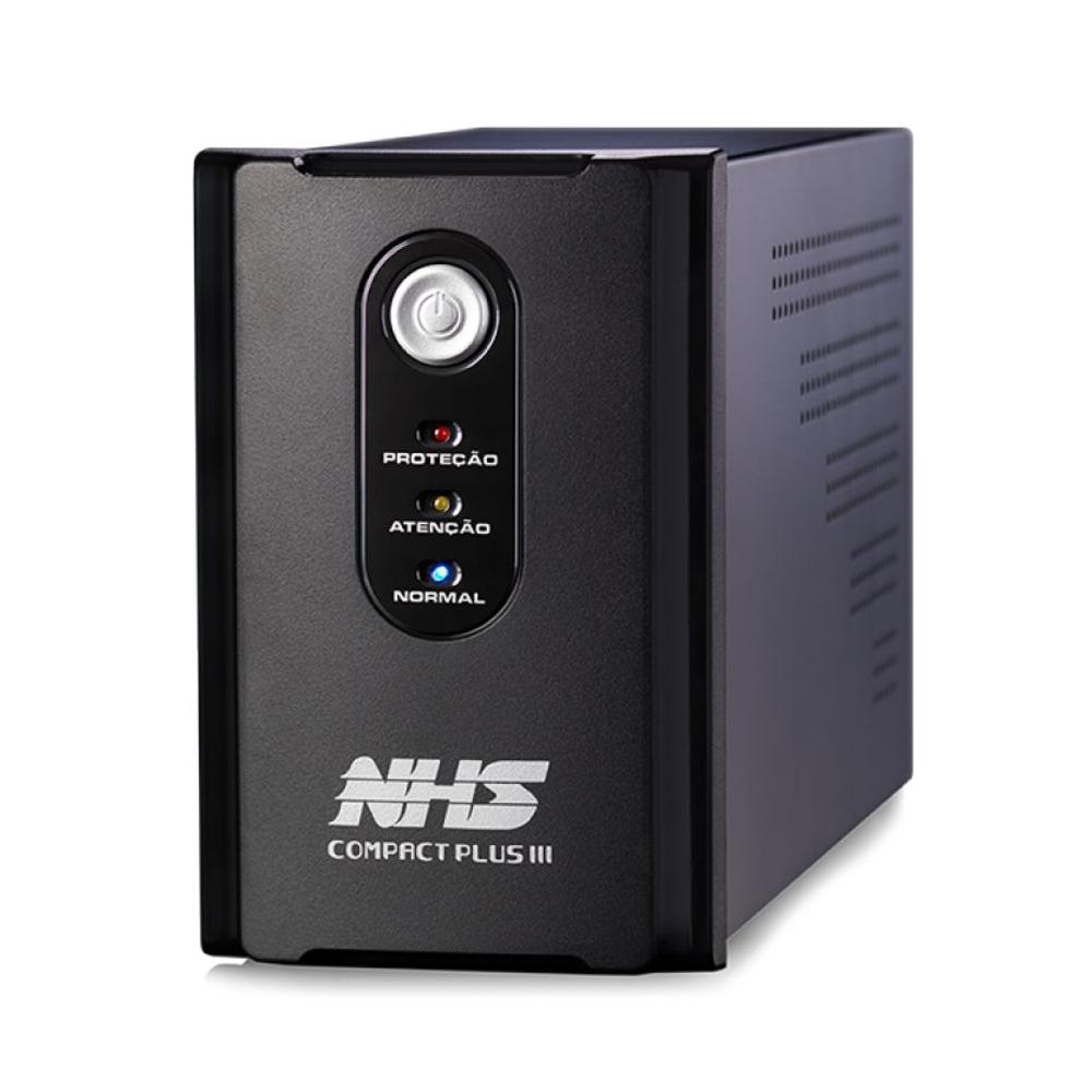 Nobreak Nhs  Compact Plus Iii 1200va 8t 2 Baterias 7ah Saida 120v Ou 220v